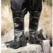 Western Boots With Spur Straps